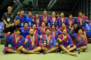 第94回日本選手権水球優勝写真