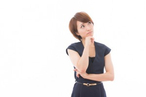 不妊に悩む女性の写真